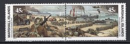 MARSHALL ISLANDS - 1990 History Of The Second World War - Evacuation At Dunkirk, 1940  M472 - Marshall