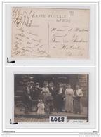 7828 AK/PC/CARTE PHOTO/2029  93  EPICERIE GARANTIS PUR JUS DE RAISINS FRAIS/POSE FAMILLE LUBRIS/1907 - Da Identificare