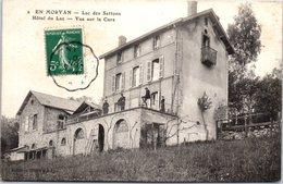 58 MONTSAUCHE-LES-SETTONS - Hôtel Du Lac, Vue Sur La Cure - Montsauche Les Settons