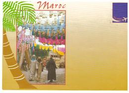 Maroc. Enveloppe Illustrée. Marrakech : La Menara Et Boutique. - Autres Collections