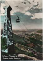 Valcava, Bergamo (Torre De' Busi, Lecco): Stazione Estiva Invernale. Viaggiata 1961 Cabinovia, Cableway Seilbahn - Bergamo