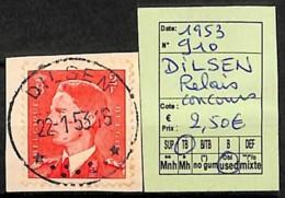 [823249]Belgique 1953 - N° 910, Dilsen, Relais, Concours, Rois, Familles Royales - Used Stamps