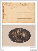 3879 AK/PC/CARTE PHOTO/N°605/BUSCHMUHLE 19 15 PHOTO EMIL WUNSCHE JUS DE RAISINS FRAIS/POSE FAMILLE LUBRIS/1907 - Germania