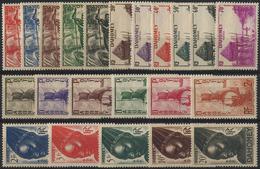 Dahomey 1941. Yvert #120/41 MNH/Luxe (B-03) - Boten