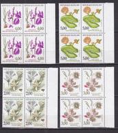 N° 2766 à 2769: Série Nature De France: Fleurs Des Etangs Et Des Marais: Série En Bloc De 4 Timbres Impeccable - France