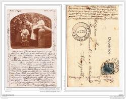 3880 AK/PC/CARTE PHOTO/N°606 TCHEQUIE VOTICE/JICIN/ PHOTO FAMILLE/1905 - Cartoline