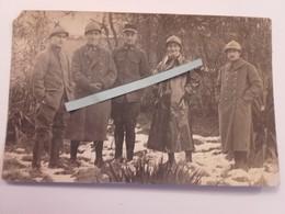 1916 1918 Chasseurs à Pieds 26 Eme Bataillon Officiers Et Sous Officiers Capote Poilus Ww1 1WK 1914 1918 14-18 Tranchées - War, Military