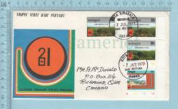 Malayzia - FDC 1977, Send To Richmond Quebec Via Air Mail, 4 Stamp - Malaysia (1964-...)