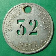 METZ - Moselle - Service Des Eaux - Monetary / Of Necessity