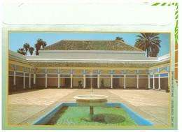Maroc. Enveloppe Illustrée.  Patio , Fontaine Et Mosquée. - Autres Collections