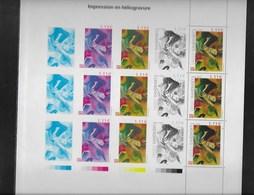 FRANCE 2004-BLOC KANDINSKY Et Gravures Albert DECARIS  Issu Du Livre Impressions/Expressions  I - Sheetlets