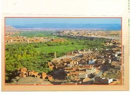 Maroc. Enveloppe Illustrée.  Sud Marocain. Tinghir. Pic Rocheux Et Palmiers - Autres Collections