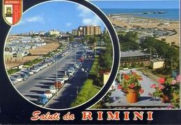 Saluti Da Rimini - 4578 - Formato Grande Viaggiata – E 9 - Rimini