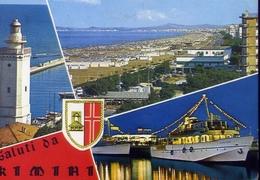 Saluti Da Rimini - Formato  Grande Viaggiata – E 9 - Rimini