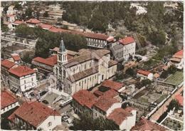Bessèges (30) - Vue Aérienne Du Quartier De L'Église - Bessèges