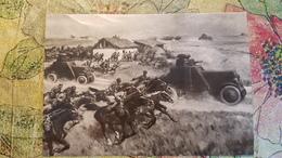 Russie, Russian Civil War. Red Army Attack - 1930s Postcard - Russia