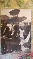 Russie, Russian Civil War. Voroshilov Visiting Red Army Aerodrome - 1930s Postcard - Russia