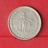 SOUTH AFRICA 10 CENTS 1962 - 5,66 GRS - 0,500 SILVER   KM#  60 - (Nº26600) - Afrique Du Sud