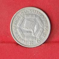 SOUTH AFRIKA 6 PENCES 1948 - 2,83 GRS - 0,800 SILVER   KM#  36,1 - (Nº26601) - Afrique Du Sud