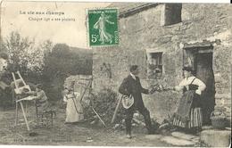 La Vie Aux Champs  42 CPA - Cartoline