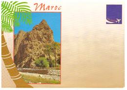 Maroc. 9 Enveloppes Illustrées. Sud Marocain Et Divers - Autres Collections