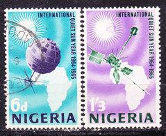 Nigeria 1965-Sole Calmo  Serie Completa Usata - Nigeria (1961-...)