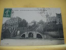 44 5657CPA 1919 - 44 NANTES. LES ROCHERS DE STE ANNE ET L'ESCALIER DES CENT MARCHES. EDIT. CHAPEAU N°503. VUE DIFFERENTE - Nantes