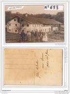 3961 AK/PC/CARTE PHOTO/693/FERME EN RUSSIE ?? /PHOTO A IDENTIFIER/1918/TTB - Russia