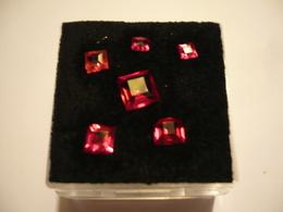 Lot 6x Rubine - In Kapsel (714) - Ruby