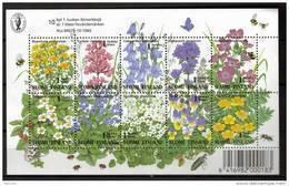 Finlande 1994 Bloc N°13 Neuf Fleurs Des Prés - Hojas Bloque
