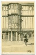 ARTIST : WALTER KEESEY - CAMBRIDGE : QUEEN'S COLLEGE - GALLERY - 1900-1949