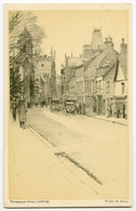 ARTIST : WALTER KEESEY - CAMBRIDGE : TRUMPINGTON STREET - 1900-1949