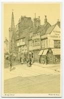 ARTIST : WALTER KEESEY - CAMBRIDGE : BRIDGE STREET - 1900-1949