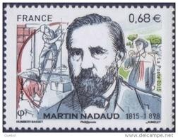 France Métier N° 4968 ** Martin Nadaud - Maçon Et Homme Politique - Jobs