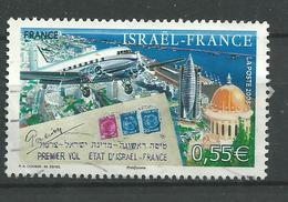 N° 4299 Avion En Vol Aérienne De Tel Aviv 0,55€ Année 2008 Oblitéré - France