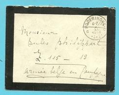Rouwbrief Stempel POPERINGHE C Op 2/11/1918 - WW I