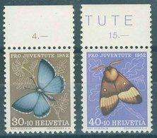 Switzerland - 1952  Pro Juventute 30c. & 40c. MNH** - Pro Juventute