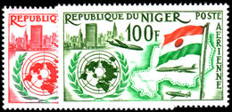 Niger 1961 Air 1st Anniv Of Admission Into U.N. Unmounted Mint. - Niger (1960-...)