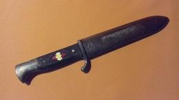 Ancien Poignard Allemand Couteau De Jeunesse WW2 1937 - 1939-45
