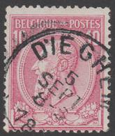 COB N° 46 - DIEGHEM - 1884-1891 Leopold II