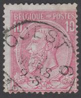 COB N° 46 - Amblt. OUEST 6 - Belle Oblitération - 1884-1891 Leopold II