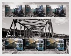 Croatia 2018 - Samobor Railway Engines Sheetlet Mnh - Croacia