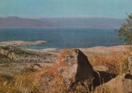 Armenia, Sevan Lake View Of Countryside And Lake Shore, Soviet-era Issued C1970s Vintage Postcard - Armenia
