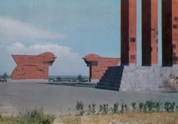 Armenia, Octemberyan Architecture And Monuments, Soviet-era Issued C1970s Vintage Postcard - Armenia