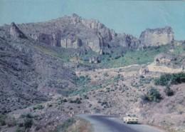 Armenia, Goris District, Road To Tatev, Soviet-era Issued C1970s Vintage Postcard - Armenia