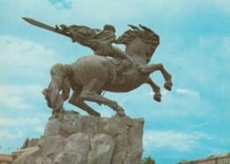 Armenia, Yerevan Monument To David Of Sasun, Soviet-era Issued C1970s Vintage Postcard - Armenia