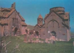 Armenia, Tsakhkadzor Kecharis Monastery Ruins, Soviet-era Issued C1970s Vintage Postcard - Armenia