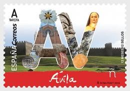 Spain 2018 - 12 Months, 12 Stamps - Avila Mnh - 2011-... Ungebraucht