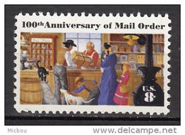 USA, MNH, Bureau De Poste Post Office, Chien, Dog, Cat, Chat, Poêle, Stove, Mail Order - Poste