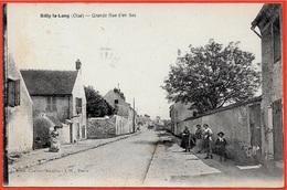 CPA 60 SILLY-Le-LONG Oise - Grande Rue D'en Bas ° Edit Cartier-Moulin - France